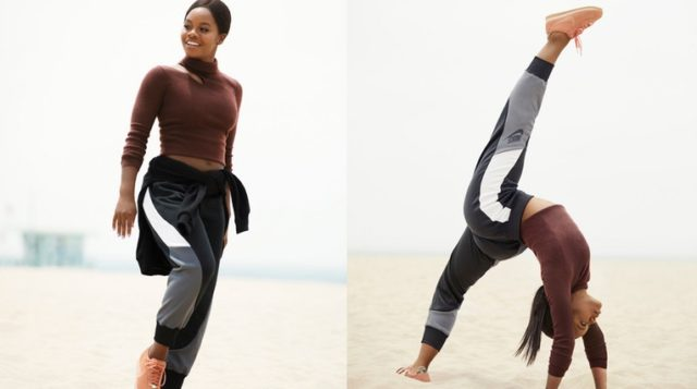 low priced b4a80 6b401 Gabby Douglas Stars In New Nike Cortez By A.L.C. Campaign
