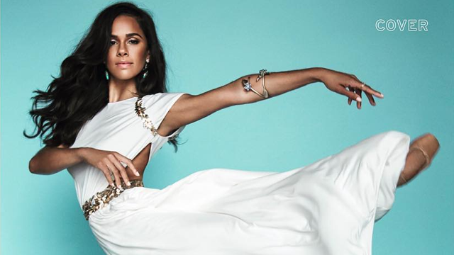 Close Up Misty Copeland Graces Cover Of Elle South Africa