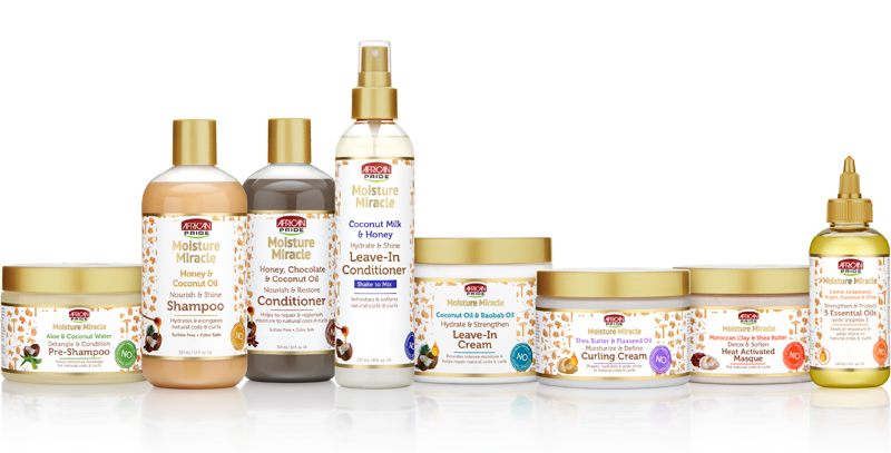 African Pride Introduces New Moisture Miracle Collection