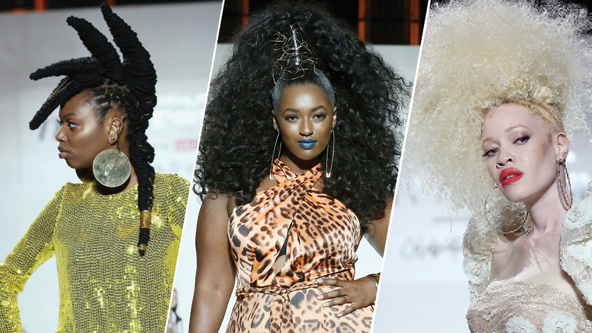 Texture On The Runway Powered By Sally Beauty
