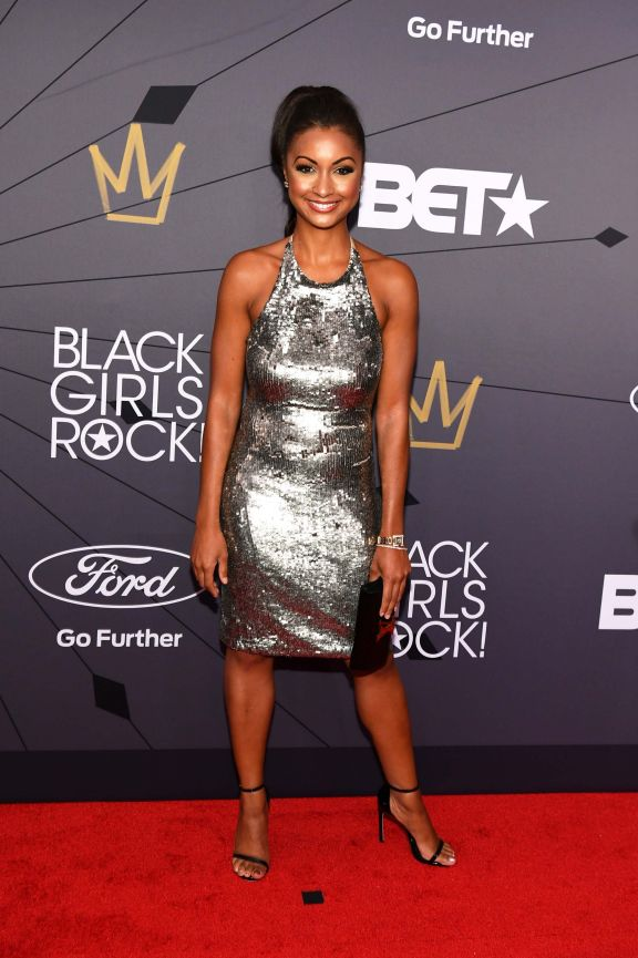 Eboni K Williams 082618 Shows Black Girls Rock Red Carpet 33