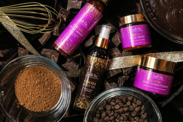Camille Rose X Cocoa Melange Holiday Collection