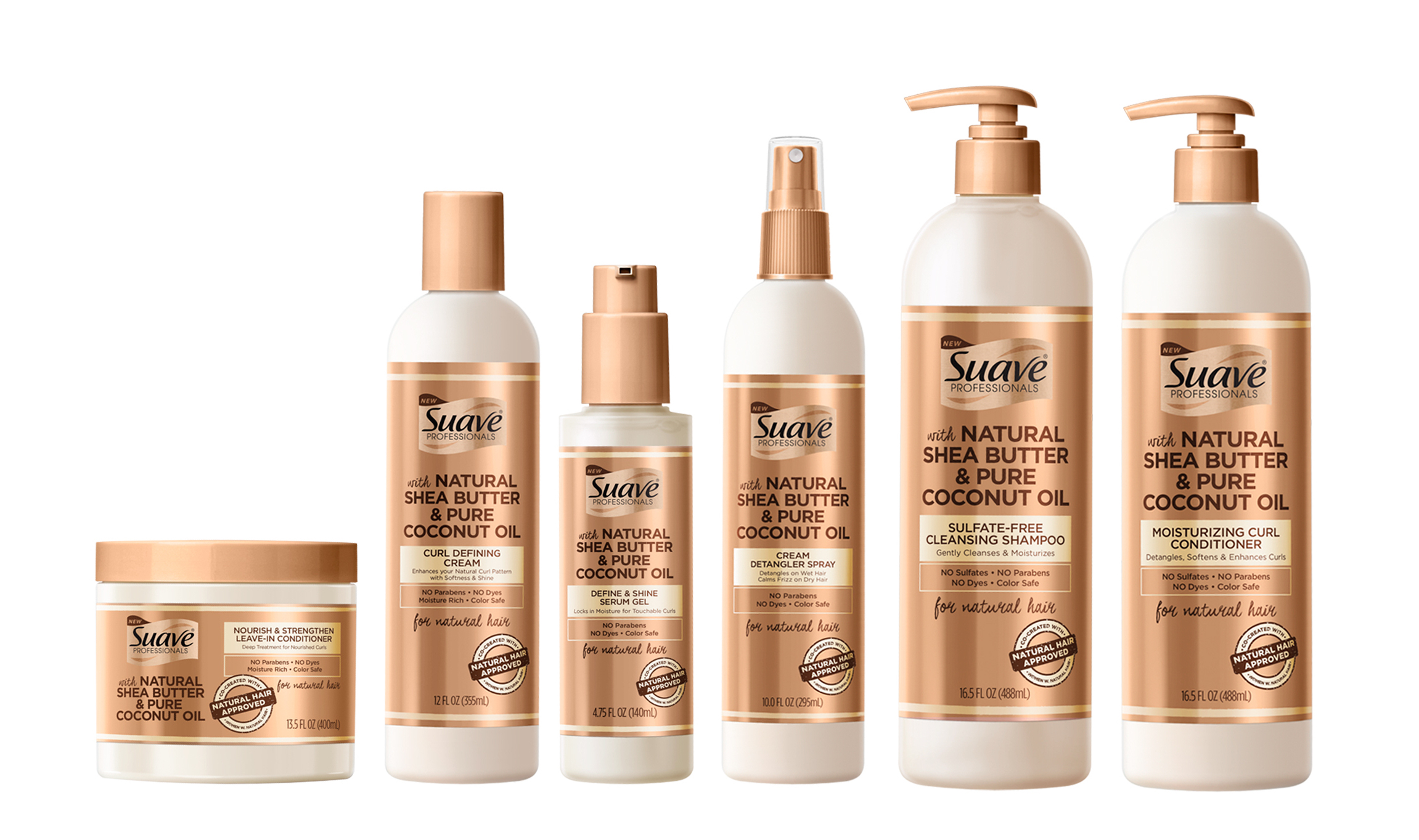 suave hair natural professionals care cream collection cvs starting conditioner oil leave each shampoo coconut pure gel spray introduces butter