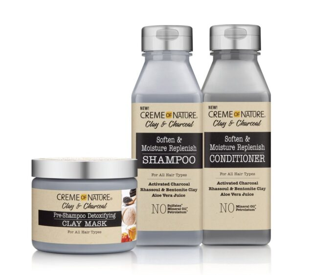 Creme Of Nature Clay & Charcoal Hair