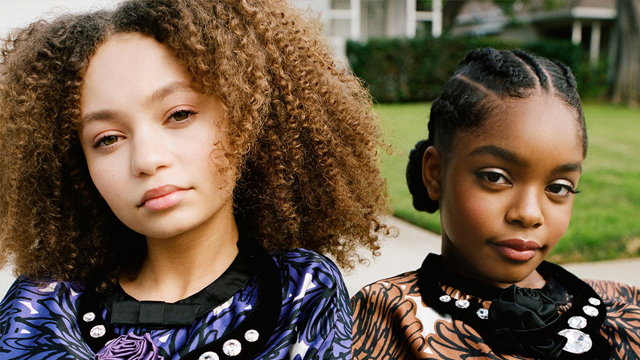Close Up Marsai Martin Amp Nico Parker Serve Natural Hair