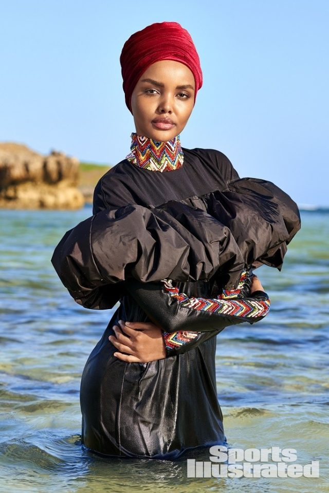Halima Aden X SI Swimsuit Issue