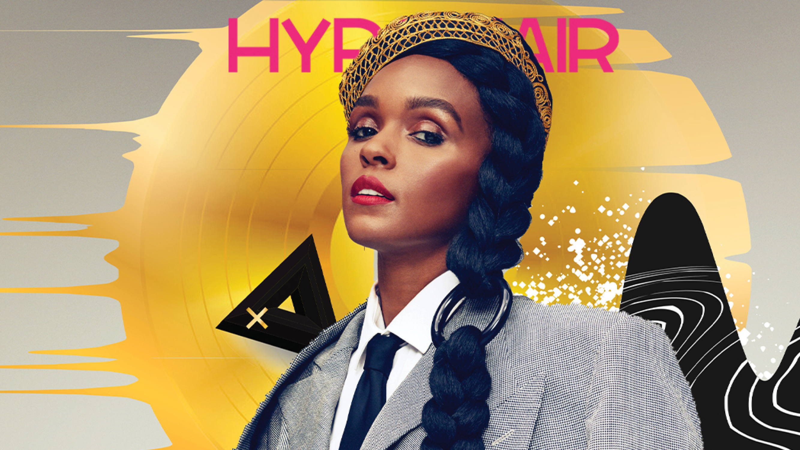 Janelle Monáe X Hype Hair May 2019