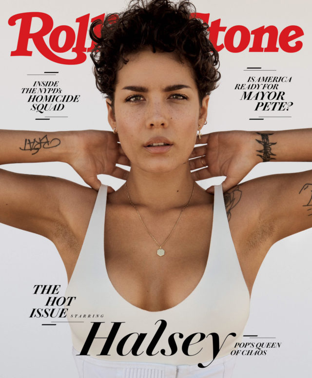 Halsey X Rolling Stone The Hot Issue