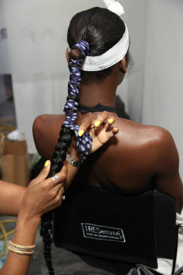 TRESemme x Maki Oh For NYFW